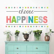 wallpops choose happiness wall quote decal walmart com