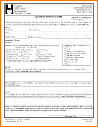 incident report form template word 8 incident report form template word homed