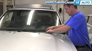 nissan frontier automatic transmission how to install fix broken windshield wiper transmission 2001 04