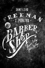 33 best barber shop images on pinterest barber shop barber logo