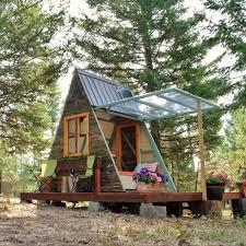 tiny cabin homes tiny homes popsugar home