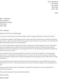 sample cover letter for psychology internship lovely psychology