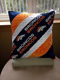 denver bronco pillow on etsy 36 00 inspiration only gifts