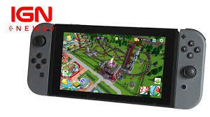 Seeking Review Ign Rollercoaster Tycoon Seeks Crowdfunding For Switch Version Ign