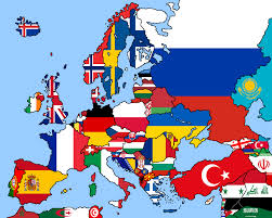 Empty Map Of Europe by Image Blank Map Of Europe With Flags By Eric4e Png