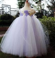 lilac flower dress dresses tutu dress baby dress