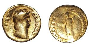Gold Coins Found In California Backyard Old Money Rare Roman U0027nero U0027 Coin Unearthed In England