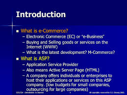 electronic commerce csc1720 u2013 introduction to internet essential