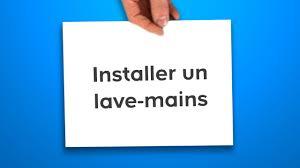 Wc Suspendu Lave Main by Installer Un Lave Mains Castorama Youtube
