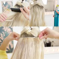 in extensions how to make clip in hair extensions stay in your hair hair