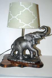 Elephant Table Lamp Twos Company Elephant Side Table Ceramic Vintage Ceramic Elephant