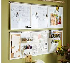 Office Wall Organizer Ideas 5 Ideas For Organization Pottery Barn And Blackboards