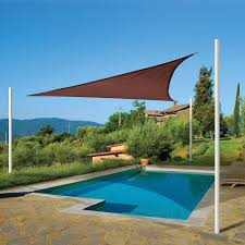16 Foot Awning Diy Sun Shade Sail Patio Awning Youtube Fine Triangle Cover 23