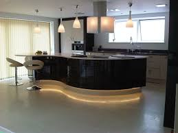 dwell of decor curved kitchen countertop designs for modern house