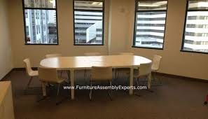 Ikea Meeting Table with Why The New Ikea Bekant Collection Is Good For An Open Concept