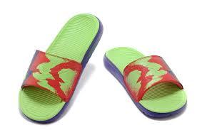 kd slides men nike solarsoft kd slide purple green 49 00