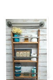 Shelving Units Best 25 Ladder Shelving Unit Ideas On Pinterest Ladder Bookcase