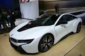 lexus lfa vs bmw i8 bmw i8 north american premiere in crystal white cars