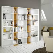 Librerie Bifacciali Ikea by Libreria Componibile Laccata Almond P 32 8 Arredaclick