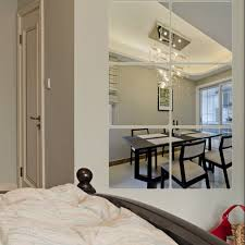 mirror decals home decor modern mirror decal wall sticker diy home decor living room