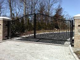 decor decorative driveway gates home decoration ideas designing