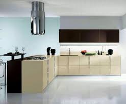 kitchen charming beige tone modern kitchen cabinets with ceramics
