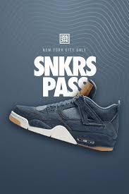 Nike Levis air 4 retro levi sâ snkrs pass nyc nikeâ snkrs