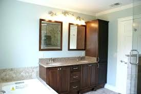 Linen Cabinet For Bathroom Bathroom Vanity And Linen Cabinet Bathroom Vanity With Matching