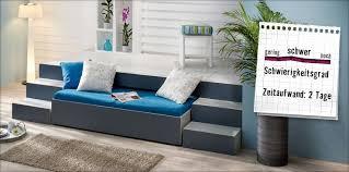 podest mit couch selber bauen u2013 anleitung von hornbach