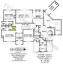 cornish hall house plan house plans by garrell associates inc