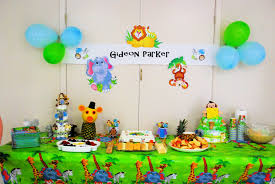 jungle theme baby shower decorations diy zone romande decoration