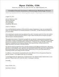 assistant cover letter dental assistant cover letter sle