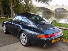 porsche targa green classic chrome porsche 911 993 carrera targa tiptronic s 1996