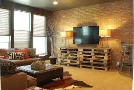 vintage style living room ideas diy pallet rectangular decorative