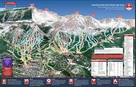 Colorado Ski Area Map by Ski Resort Map Ski Resort Map Winter Park Ski Holidays Usa In