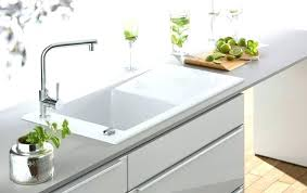 inset sinks kitchen white ceramic kitchen sink ikea high quality gloss finish chrome