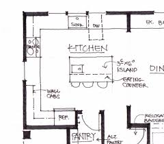 Projects Inspiration Floor Plan Dimension by Kitchen Design Kitchen Floor Planouts Designs For Home Plans