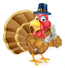pilgrim hat thanksgiving turkey holding by krisdog