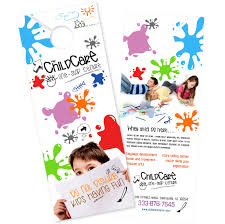 door hanger flyer template boxedart limited items door hanger templates services
