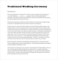 Wedding Program Sample Template Wedding Ceremony Program Template U2013 31 Word Pdf Psd Indesign