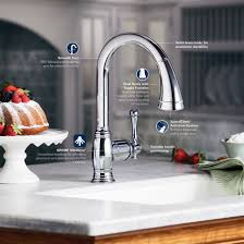 aqua touch kitchen faucet awesome grohe kitchen faucet flow restrictor kitchen faucet