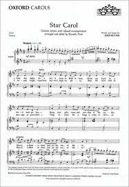 star carol sheet music by john rutter sheet music plus