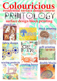 block printing textile art textile holidays craft