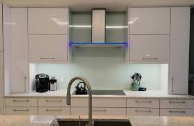 colored glass backsplash kitchen painted back glass the glass shoppe a division of builders glass