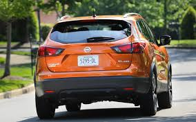 orange nissan rogue nissan rogue sport sl 2017 suv drive