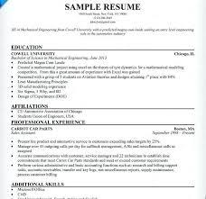 sample engineering student resume sample engineering student