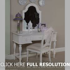 Olivia White Youth Bedroom Vanities Little Vanity And Chair Vanity Decoration