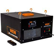 Speed Bag Wall Mount Wen 3 Speed Remote Controlled Air Filtration System 3410 The