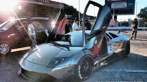 Lamborghini Murcielago 4x4 - lamborghini murcielago with brushed aluminum wide body kit