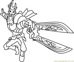 emperor coloring free slugterra coloring pages